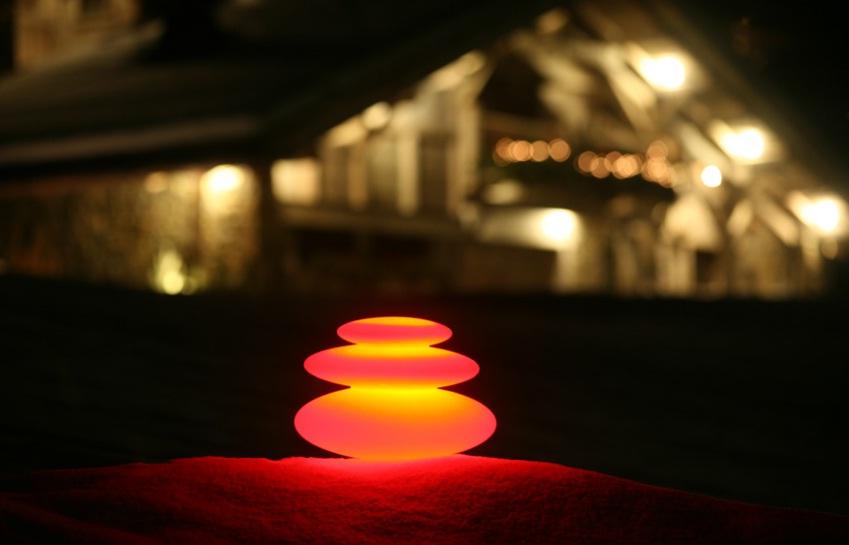 Led cordless lamp